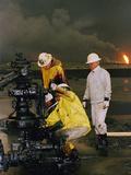 1991 Gulf War Oil Fires Photographic Print by Roberto Borea