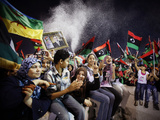APTOPIX Mideast Libya Photographic Print by Abdel Magid Al-Fergany