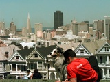 San Francisco Painted Ladies Photographic Print by Susan Ragan