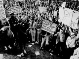 Students Heckle Anti War Rally Photographic Print by  Associated Press