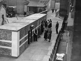 WWII London Bomb Shelter Photographic Print by  Anonymous