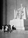 Paying Homage to Lincoln Photographic Print by William J. Smith
