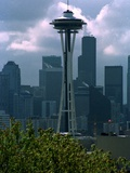 Seattle Space Needle Photographic Print by Barry Sweet
