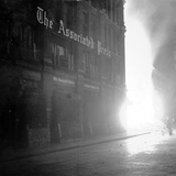 WWII Ap House Bomb 1940 Photographic Print by  Anonymous