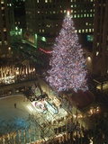 Rockefeller Tree Photographic Print by Mark Lennihan