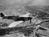 WWII British RAF Spitfire Photographic Print by  Anonymous