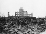 WWII Japan Hiroshima 1945 Photographic Print