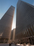 Trade Center Anniversary Photographic Print by Emile Wamsteker