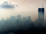 Fog NYC Skyline Photographic Print by Adam Nadel