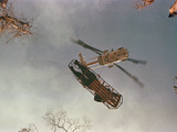 Vietnam War Helicopter Lift Photographic Print by  Associated Press