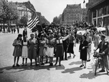 WWII Paris Liberation Photographic Print by Harry Harris