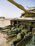 1991 Gulf War US Military Photographic Print by Sadayuki Mikami