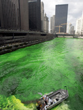 St Patricks Day Photographic Print by Jeff Roberson