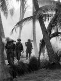 Vietnam War Mekong Delta Patrol Photographic Print by Henri Huet
