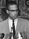 Malcolm X Anniversary Fotografie-Druck von  Anonymous