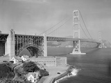 Golden Gate Bridge 1958 Photographic Print by Ernest K. Bennett