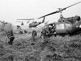 Vietnam War U.S. Troops Photographic Print by Horst Faas