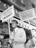 Segregation Protest Belafonte Photographic Print by J. Walter Green