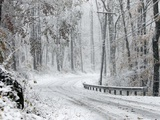 October Snow Photographic Print by Rich Schultz