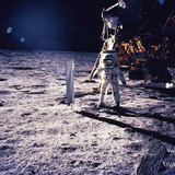 Apollo 11 Aldrin Photographic Print by Niel Armstrong