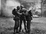 Korean War US Troops Seoul Photographic Print by Max Desfor