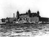 Ellis Island Photographic Print