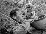 Vietnam War US Soldiers Photographic Print by Horst Faas
