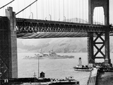 Golden Gate Opens 1937 Photographic Print by  Anonymous