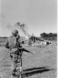 Vietnam War Operation Cedar Fall Photographic Print by  Associated Press