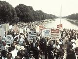 Civil Rights Washington March 1963 Fotodruck von  Associated Press