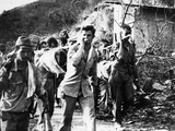 WWII Bataan Death March Photographic Print by  U.S. Army