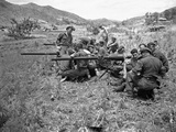 Korean War Canadian Army Guns A&A Photographic Print by  EJ