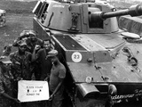 Vietnam War U.S. Black Power Photographic Print by  Johner