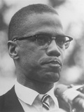 Malcolm X Fotografiskt tryck av  Associated Press