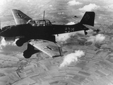 WWII German Plane Stuka Photographic Print
