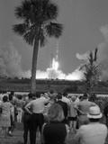 Apollo 13 Takes Off 1970 Lámina fotográfica