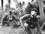 Vietnam War US Medic Photographic Print by Dana Stone
