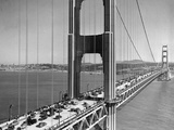 Golden Gate Traffic 1952 Photographic Print by Ernest K. Bennett