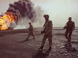 Kuwait Gulf War Photographic Print by John Gaps III