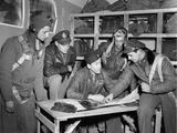 WWII U.S. Squadron Maj. Stewart Photographic Print by  Anonymous