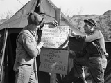 Korean War Photographic Print by James Martenhoff