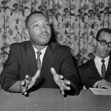 Martin Luther King Jr New York 1961 Photographic Print by Associated Press