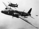 WWII RAF Vickers Wellington Photographic Print by  Anonymous