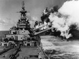 WWII USS Missouri Photographic Print