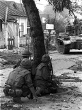 Vietnam War Tet Offensive Photographic Print by  Associated Press