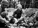 Vietnam War U.S. Medic Cole Photographic Print by Henri Huet