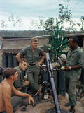 Christmas in Vietnam 1966 Photographic Print by Al Chang