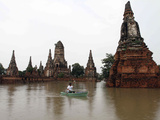 APTOPIX Thailand Floods Photographic Print by  STR