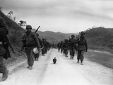 Korean War U.S. Troops A&A Photographic Print by Jim Pringle