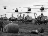 Vietnam U.S. Huey Photographic Print by  Associated Press